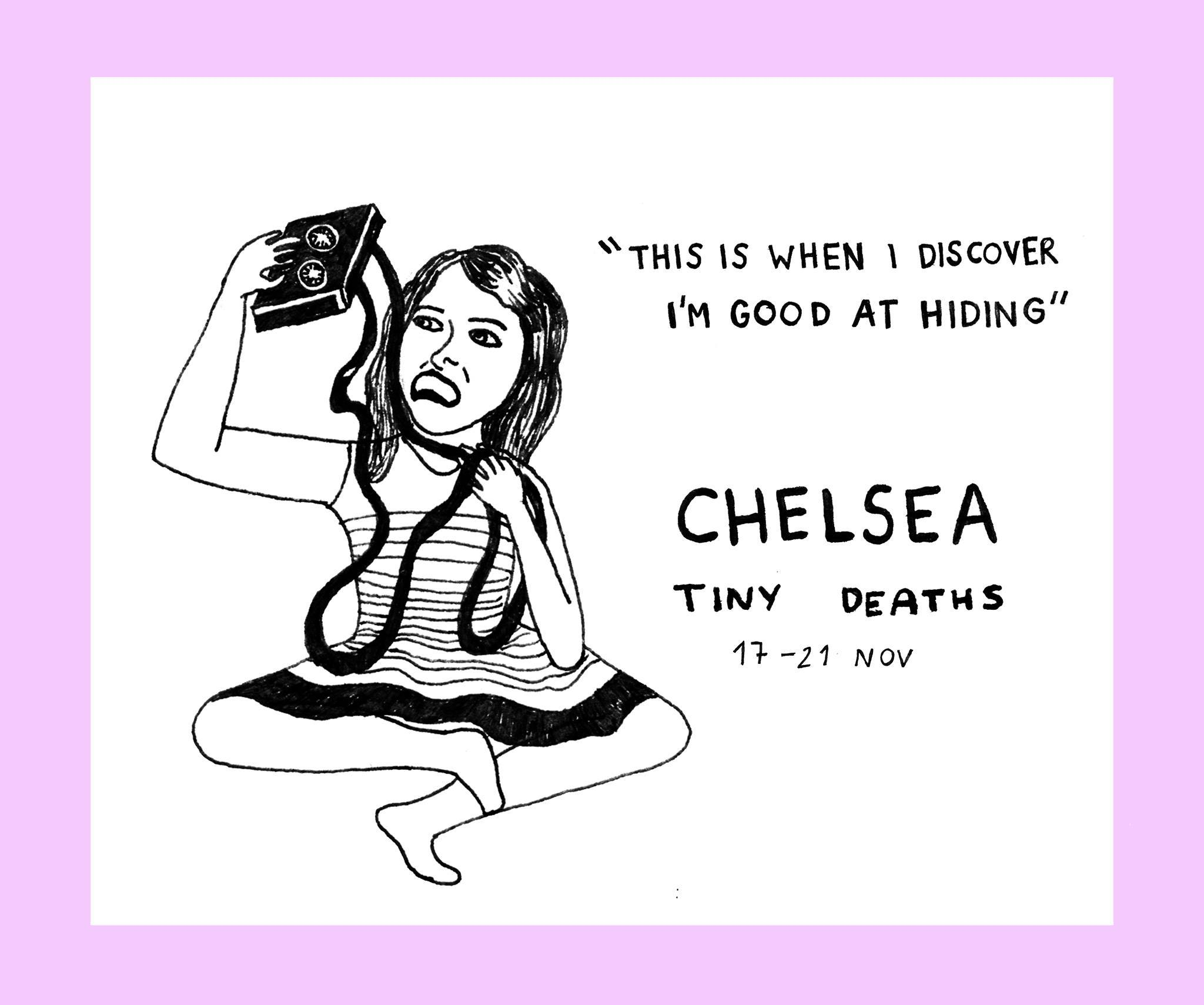 Tiny Deaths written by Uther Dean and directed by Sam Brooks!